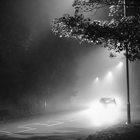 Fogy drive home