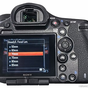 Guide to Sony a99 II Image Stabilization