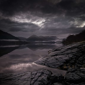 Loch Duich and the Five Sisters, NW Scotland.