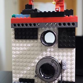 Lego Instant Camera using Fuji Instax Mini film