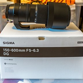 Sigma 150-600C, Canon Mount...
