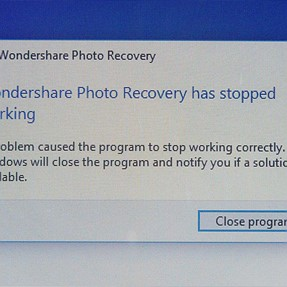Photo Recovery in Windows 10 (64 bit)