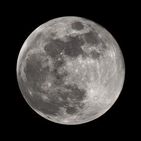 Nikon 200-500mm full moon