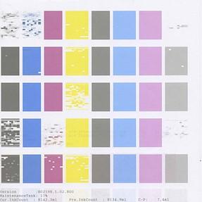 Epson 4880 Test Pattern Problem