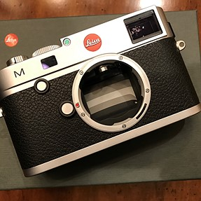Leica M (typ 240) body, MINT in box