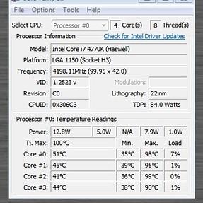 Core Temperature advice please.