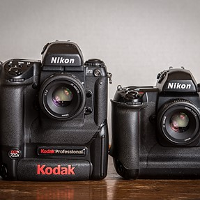Two Tenors of 2001, the Kodak 720x and the Nikon D1H ...