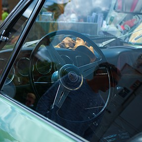 X-T2: Shooting for the first time in Salzburg during classic car meeting.