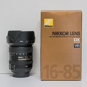 FS - Nikon DX 16-85mm f/3.5-5.6G ED VR