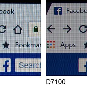 D7100 sharpness problem