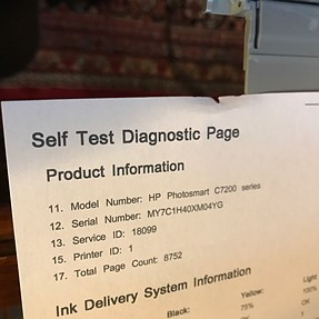 HP All-in-One paper tearing