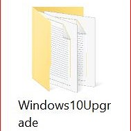 What's the Windows10Upgrade folder?