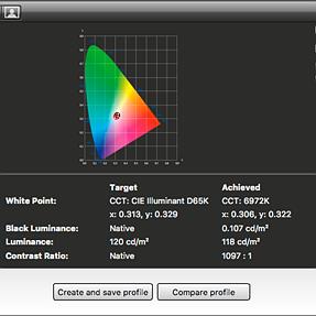 Calibrating iMac 5K (late 2014) with i1Display Pro