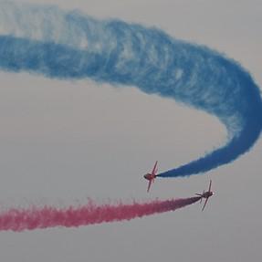 Red Arrows in Qatar