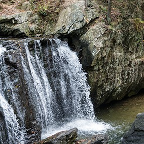 D800 + 24-120mm f4 @ Kilgore Falls in MD