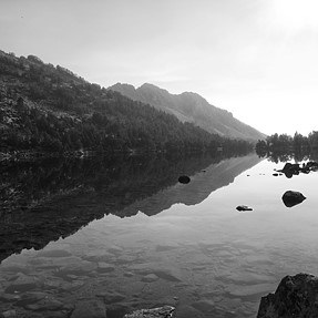 P7800 - B&W in Central Pyrenees (France)