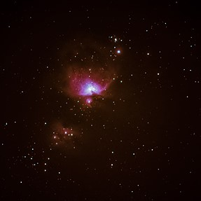 NGC1976 with Pentax FA* 400mm and K3II