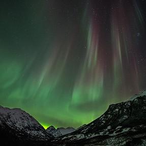 First Northern Lights shots D850