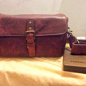 So I ordered an ONA Bowery bag in field tan BUT...