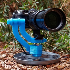 DIY Gimbal and ground pod. Complete with pictures.