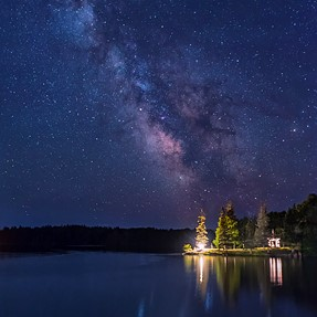 Star shots on Deer Isle, Maine with the d750 & Nikkor 24-70mm