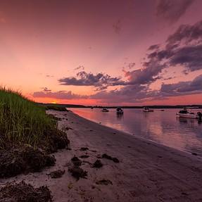 Pine Point Sunset, Scarborough, Maine