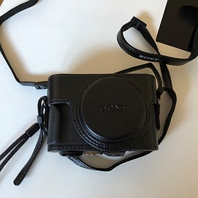 Rx100 VI all in one camera and case!