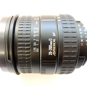 Sigma AF 28-200mm f3.5-5.6 D DL