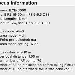 a6000 Photos out-of-focus