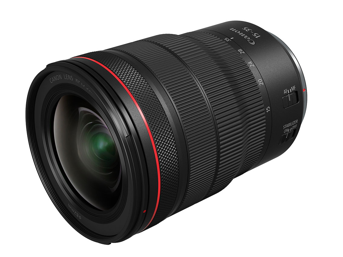 Canon RF 15-35mm F2.8L IS and 24-70mm F2.8L formally announced