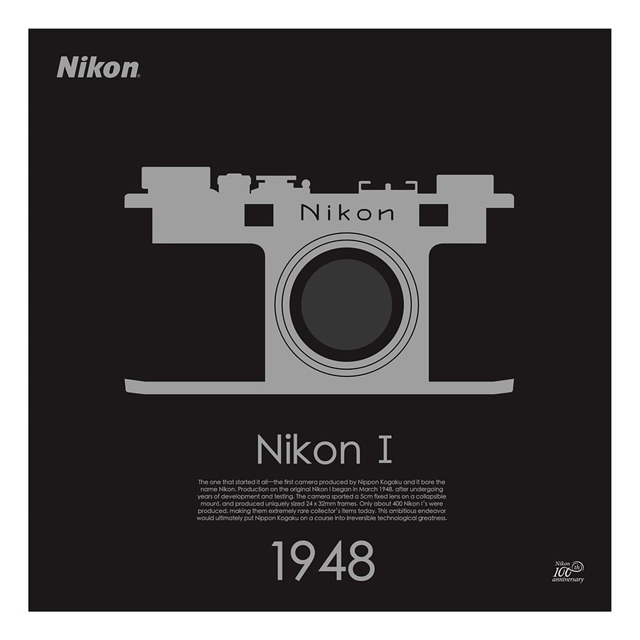 fbc6d611b4c Nikon releases limited edition camera posters for 100th anniversary ...