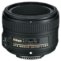 Nikon AF-S Nikkor 50mm f/1.8G