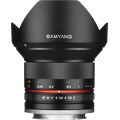 Samyang 12mm F2.0 NCS CS / Rokinon 12mm F2.0 NCS CS