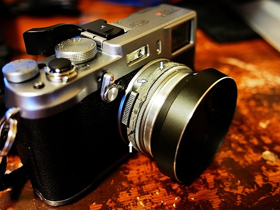 a hack tip for fuji x100 s users who zone focus fujifilm x system rh dpreview com fuji x100t manual focus fuji x100 manual focus ring
