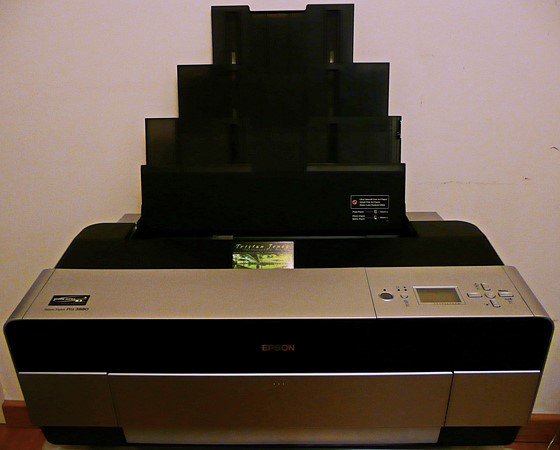 Epson Stylus Pro 3880 A2 Desktop Large Format Printer UK