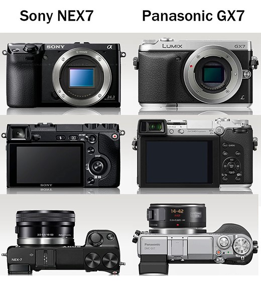 Is the panasonic gx7 a sony nex7 killer