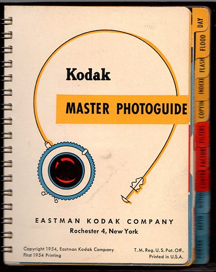 kodak master photoguide 1954 kodak porta close up lenses dof rh dpreview com kodak professional photoguide pdf George Eastman Kodak Photography