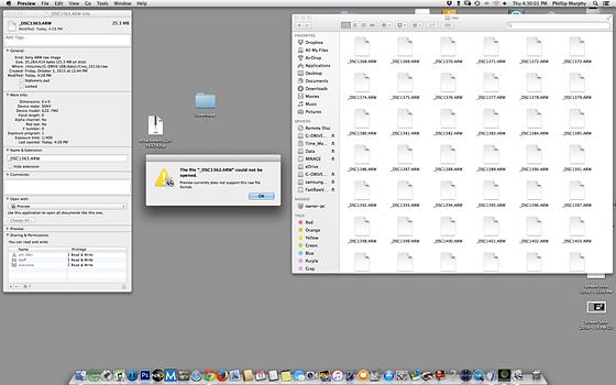 Re: Sony RAW file viewer MAC: Sony Alpha Full Frame E-mount