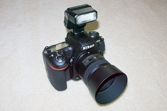 D500 with POP-UP FLASH: Nikon Pro DX SLR (D500, D300, D200, D100 ...