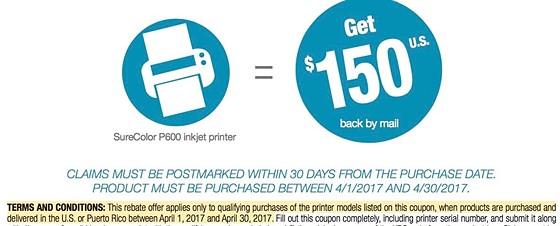 Epson SureColor P600 printer: Printers and Printing Forum