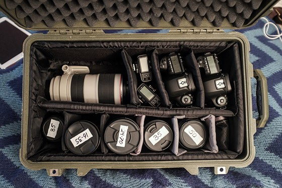 Pelican Porn: my new 5ds-r, 5d mk iv, and lens kit: Canon