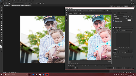 Weird shifting colors on export Photoshop: Open Talk Forum