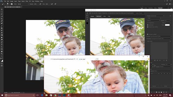 Weird shifting colors on export Photoshop: Open Talk Forum: Digital
