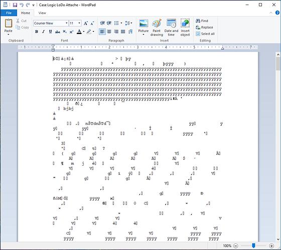wordpad 97