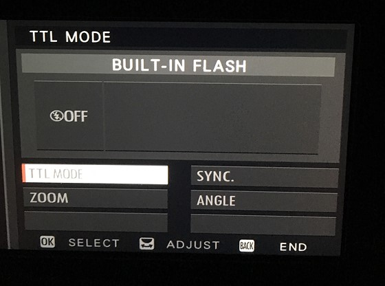 Exhausted all options and still cannot activate x100f flash