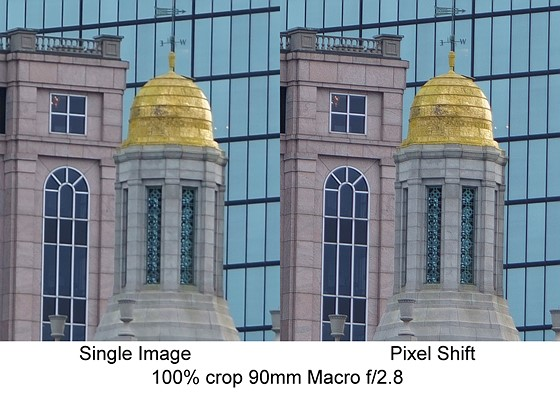 A7R III Pixel Shift Example: Sony Alpha Full Frame E-mount