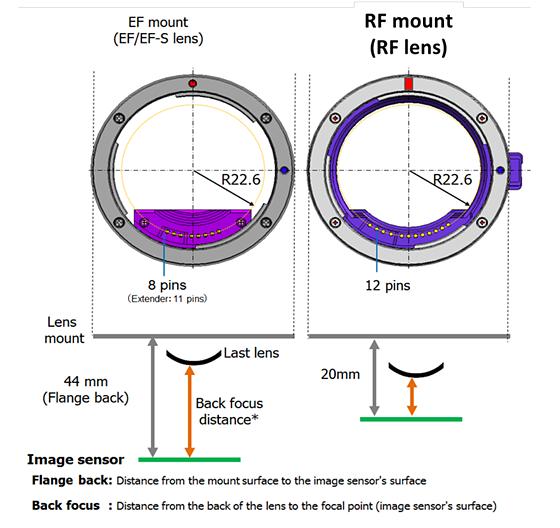 Canon RF mount quasi-spec: Nikon Z Mirrorless Talk Forum: Digital