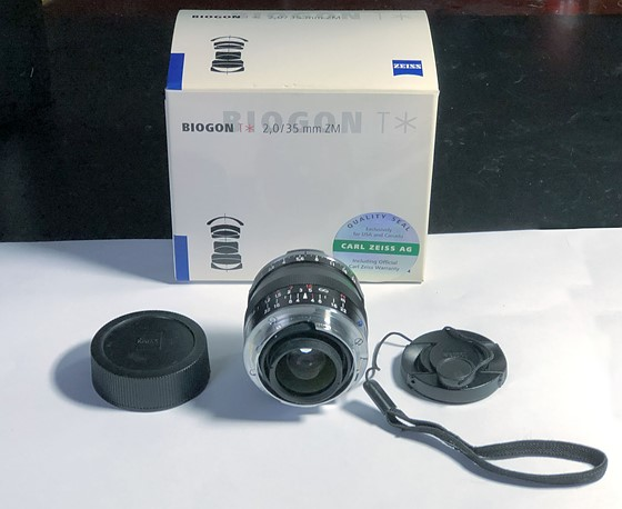 ZEISS Biogon T* 35mm f/2 ZM Lens (Black) - $600!!!!: For Sale and
