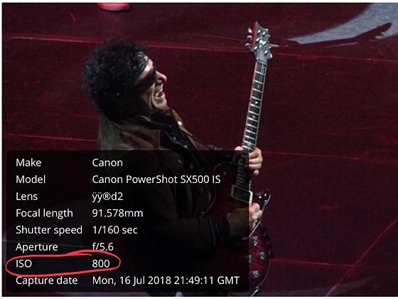 Re: 620 For Concert Photos: Canon PowerShot Talk Forum