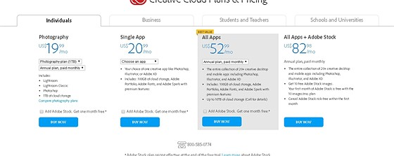 Re: Adobe CC Subscription Prices Increased: Retouching Forum